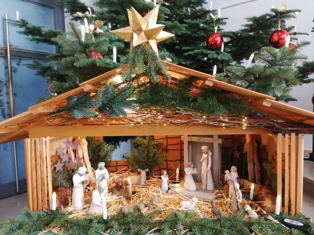 Unsere Gottesdienste am Heiligabend und 1. + 2. Weihnachtstag