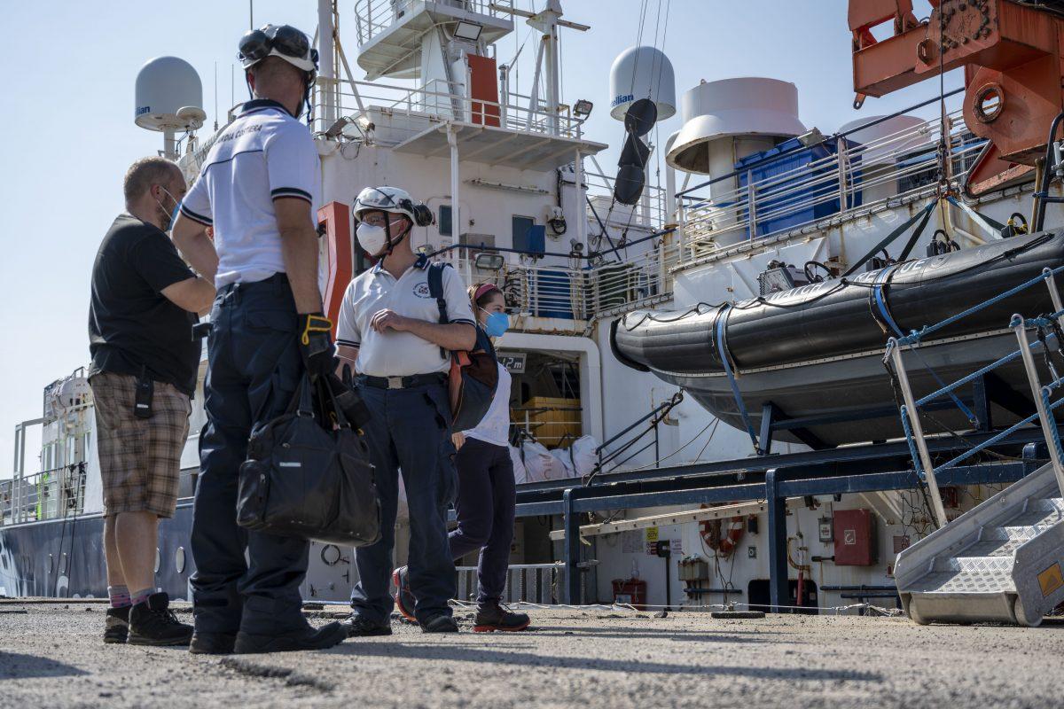 Festsetzung des Rettungsschiffs politisch motiviert